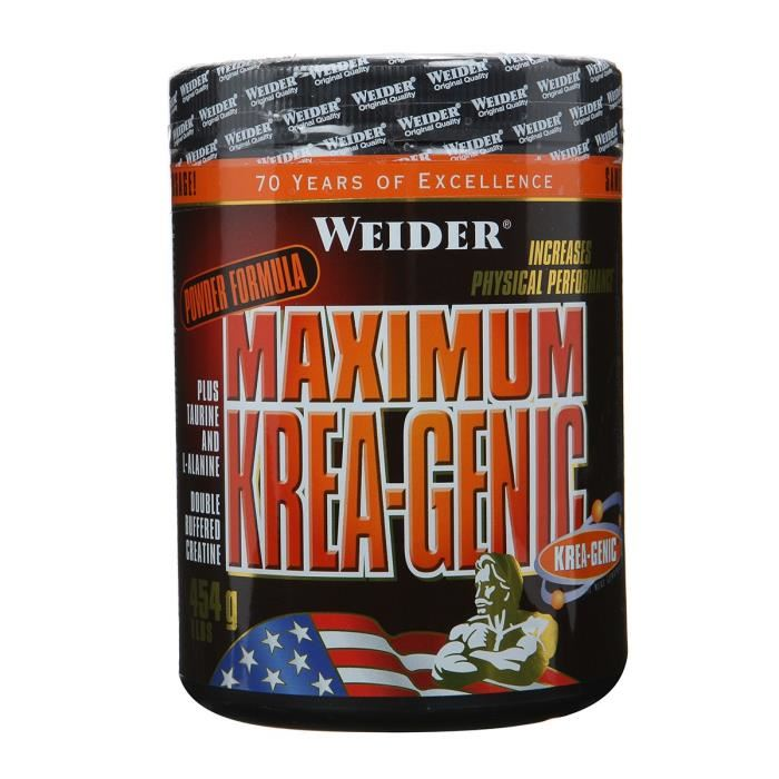 MAXIMUM KREA-GENIC Weider (prah)